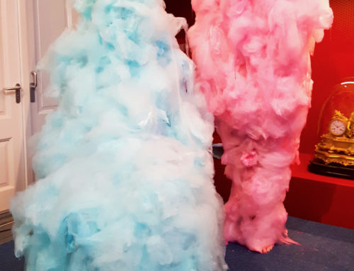 Candy Floss performance opening Sticky Business